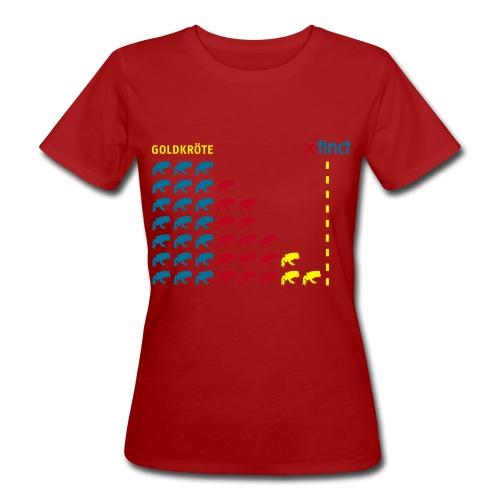 Artkolchose Goldkröte Shirt - Frauen Bio-T-Shirt