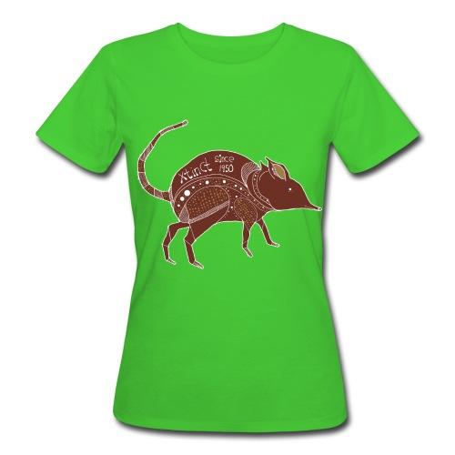 Timo Busse Nasenbeutler Shirt - Frauen Bio-T-Shirt