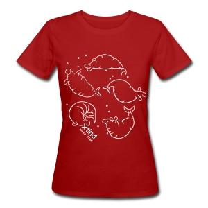 Simone Fass Seehkutanz Shirt - Frauen Bio-T-Shirt