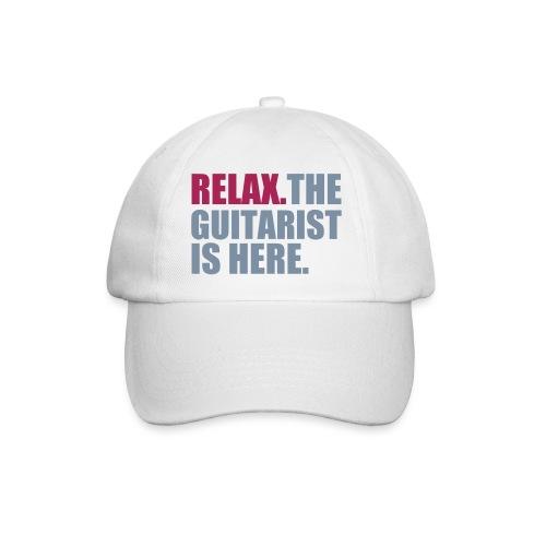 relax the guitarist is here basebal cap - Baseballcap