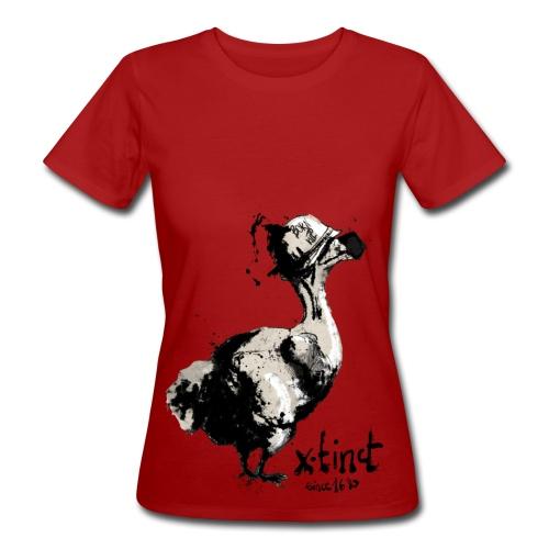 Timo Busse Dodo Earth Positive Shirt - Frauen Bio-T-Shirt