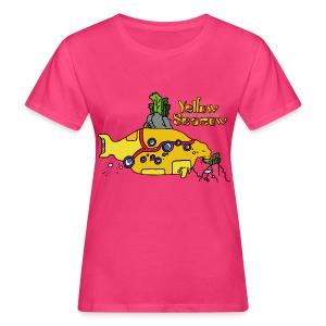 Friedem. Zschiedrich Yellow Seacow - Frauen Bio-T-Shirt