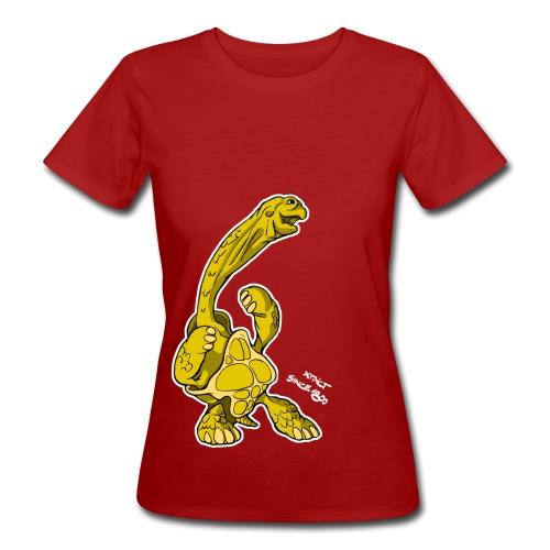 Volker Konrad Riesenschildkröte - Frauen Bio-T-Shirt