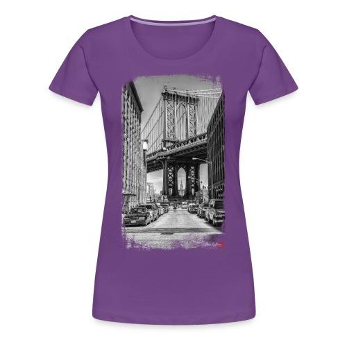 Manhattan bridge - T-shirt Premium Femme