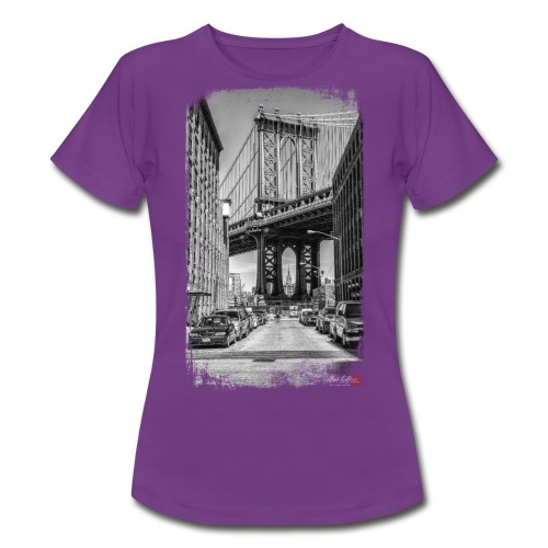 Manhattan bridge - T-shirt Femme