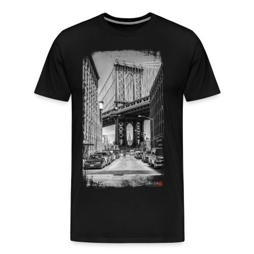 Manhattan bridge - T-shirt Premium Homme