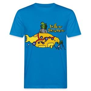 Friedem. Zschiedrich Yellow Seacow - Männer Bio-T-Shirt