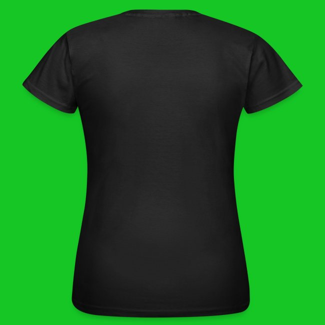 Burning heart, dames t-shirt