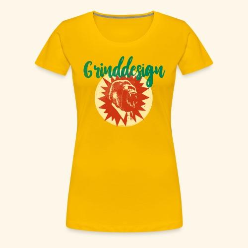 GRINDDESIGN BRAZIL VINTAGE - Frauen Premium T-Shirt