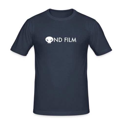 Ond Film Man Navy - Men's Slim Fit T-Shirt