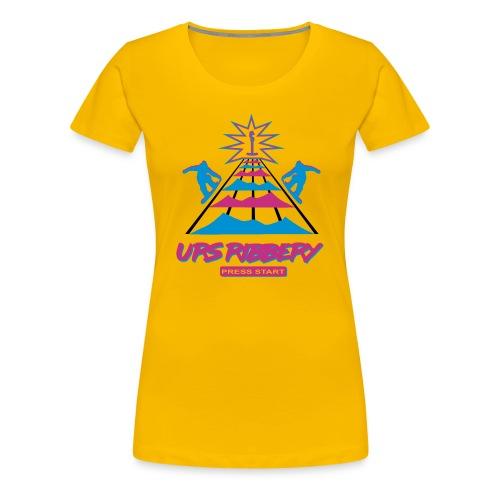 Press Start - Frauen Premium T-Shirt
