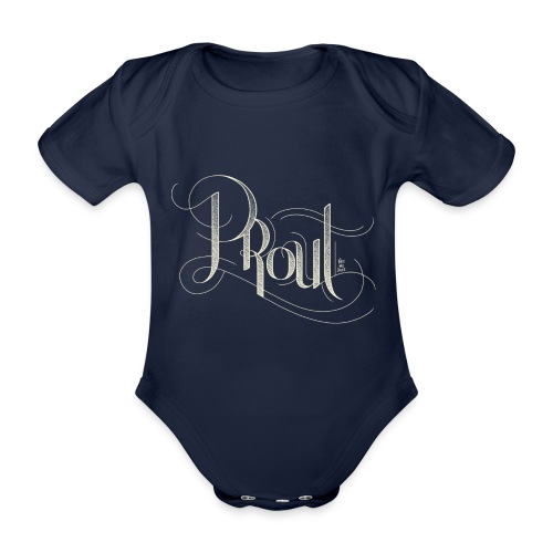 Baby - Body - Fancy PROUT - Organic Short-sleeved Baby Bodysuit