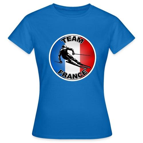 Logo Ski - T-shirt Femme