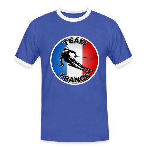 Logo Ski - T-shirt contrasté Homme