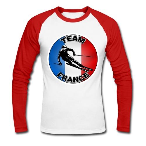 Logo Ski - T-shirt baseball manches longues Homme