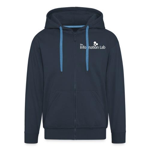 The Information Lab Hoodie Mens - Men's Premium Hooded Jacket