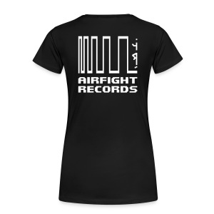 2018 - AIRFIGHT records girl t-shirt - Women's Premium T-Shirt