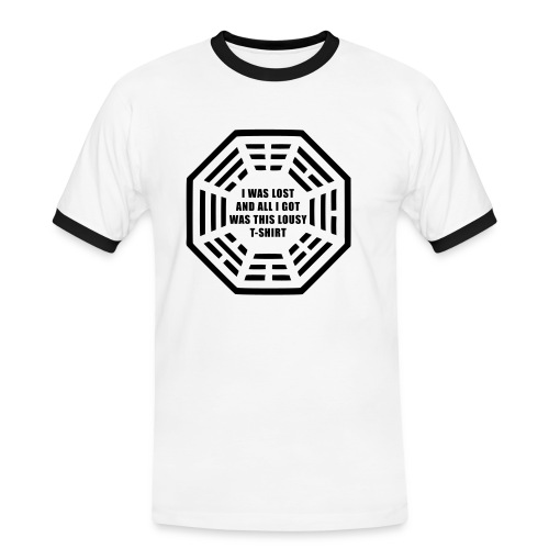 I was lost and all i got was this lousy t-shirt - Men's Ringer Shirt