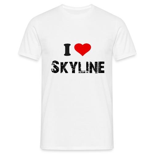 iLoveSkyline - T-skjorte for menn