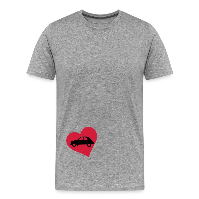 2cv_heart - Men's Premium T-Shirt