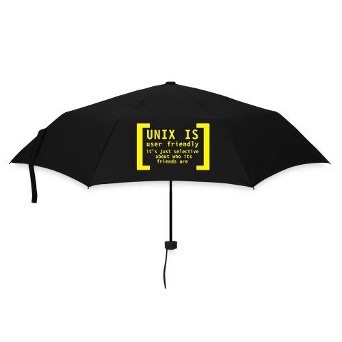 Linux is ... - Regenschirm (klein)