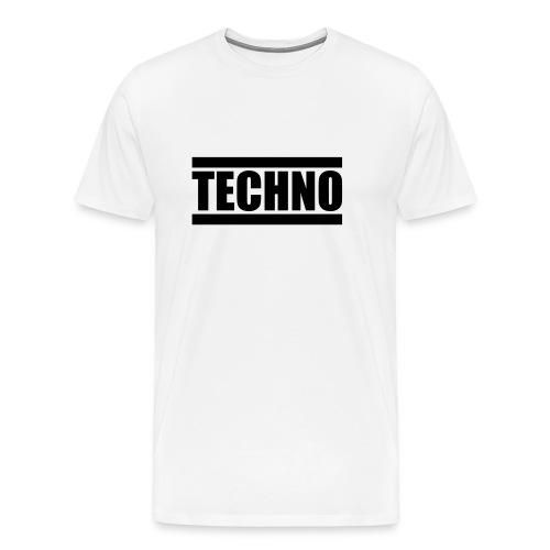 _techno t-shirt - Männer Premium T-Shirt