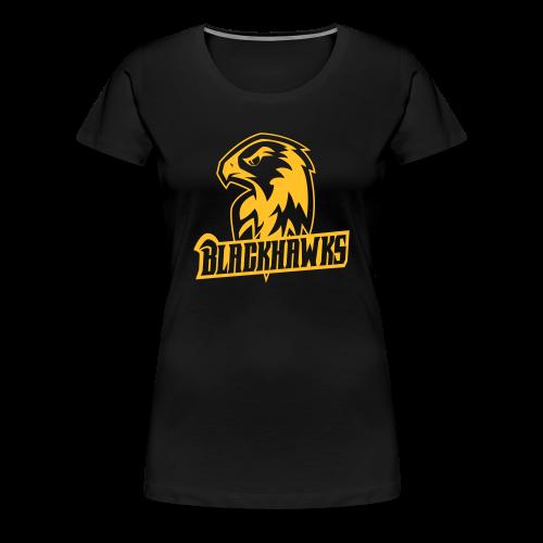 Blackhawks Classic Shirt Women - Frauen Premium T-Shirt