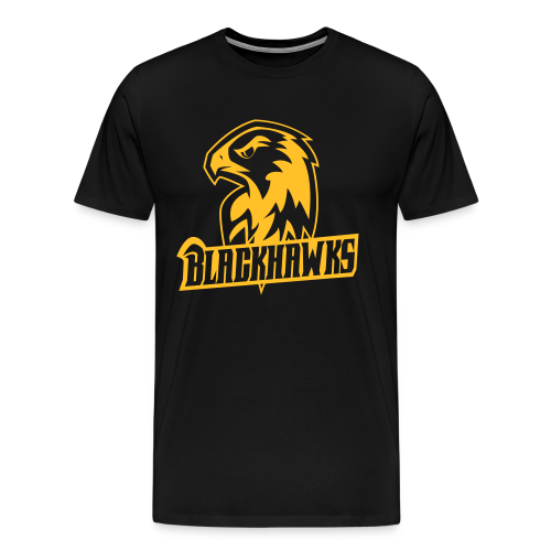 Blackhawks Classic Shirt Men - Männer Premium T-Shirt
