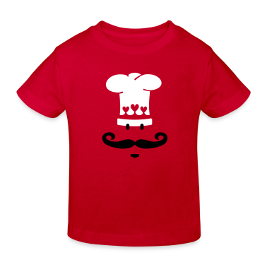 Red Meisterkoch / chef cook (2c) Kids' Shirts