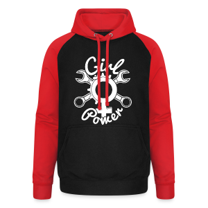 Girl Power by Little - Sweat-shirt baseball unisexe
