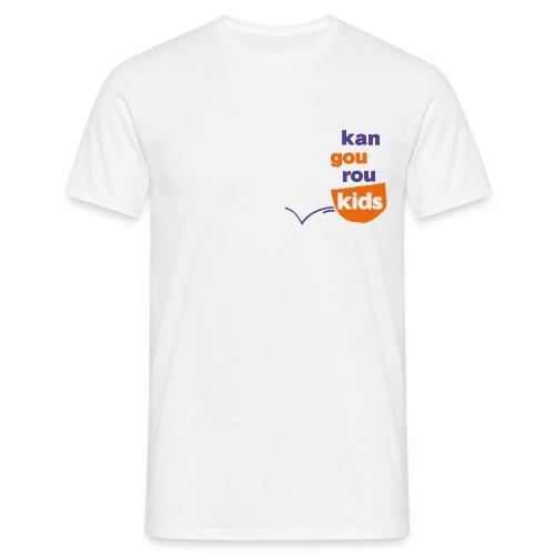 HOMME - TSHIRT IMPRESSION DEVANT / DERRIERE - T-shirt Homme
