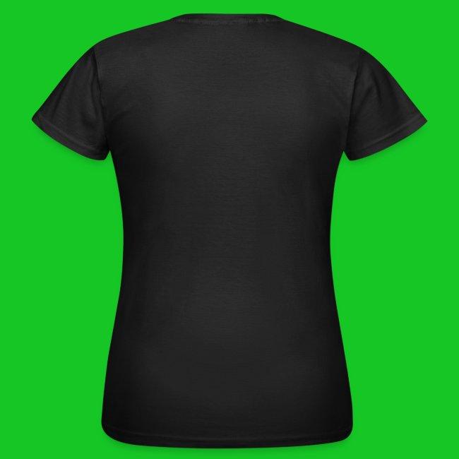 Muziek emoties zwart dames t-shirt