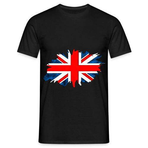 Union Flag Torn - Men's T-Shirt