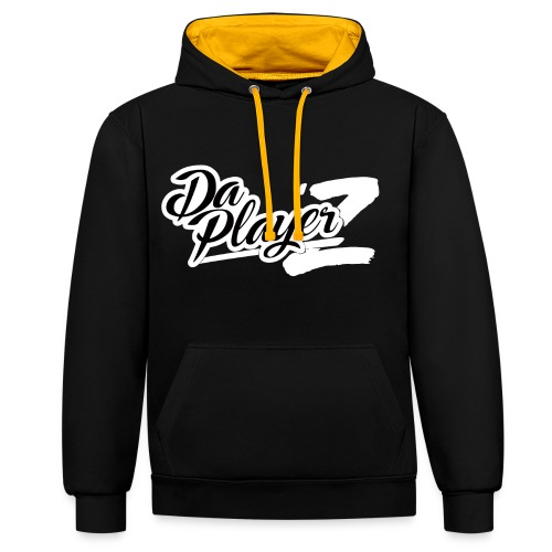 Sweatshirt Black & Yellow - Sweat-shirt contraste