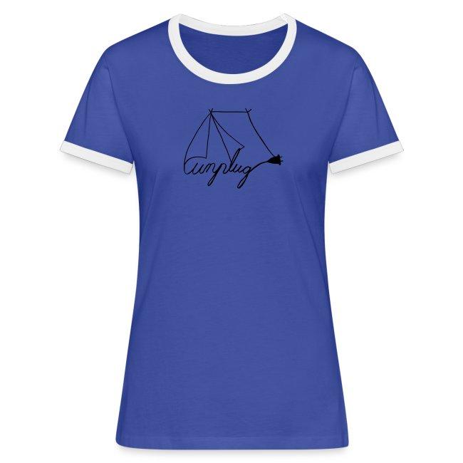 unplug Frauen T-Shirt