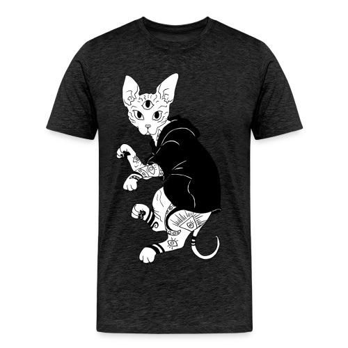 Sphinx Cat - Männer Premium T-Shirt