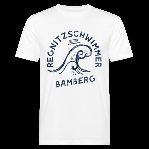 Regnitzschwimmer - Herren BIO T-Shirt - 100% Baumwolle - #SERS - Männer Bio-T-Shirt