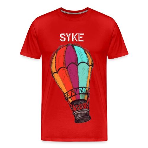 RED, SYKE T-Shirt - Men's Premium T-Shirt