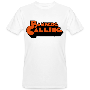 Bamberg Calling - Herren BIO T-Shirt - 100% Baumwolle - #SERS  - Männer Bio-T-Shirt