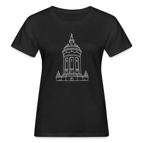 Wasserturm Mannheim - Frauen Bio-T-Shirt