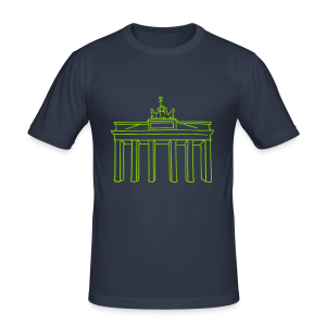 Berlin, Brandenburger Tor - Männer Slim Fit T-Shirt