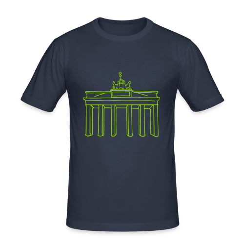 Berlin, Brandenburger Tor - Männer Slim Fit T-Shirt