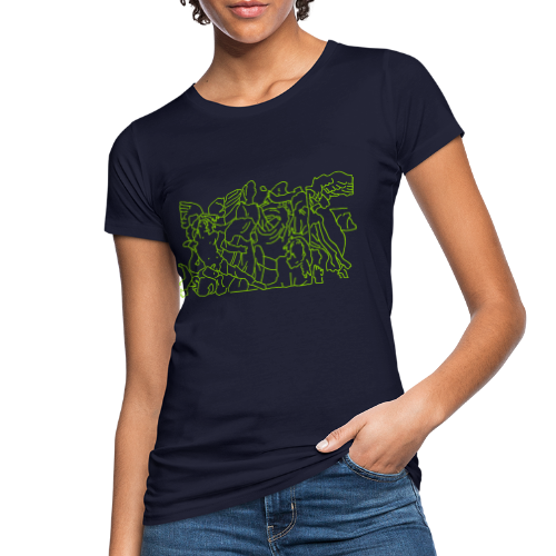 Pergamonaltar Berlin - Frauen Bio-T-Shirt