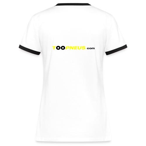 Toop'Chica 2 tons - T-shirt contrasté Femme