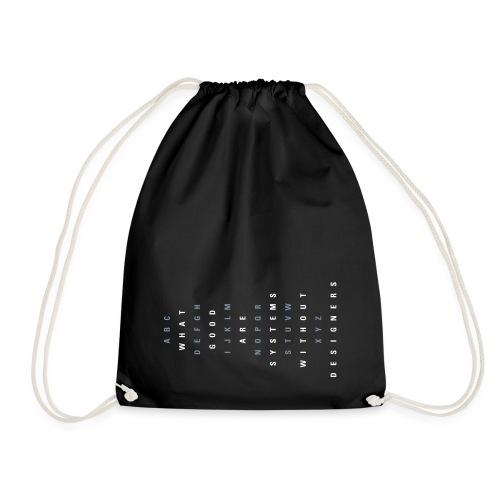ABC Designers (EN), Cotton Gym Bag - Turnbeutel
