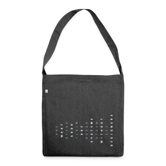 ABC Designers (EN), Recycling Tote Bag
