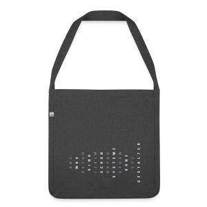 ABC Gestalter (DE), Recycling Bag - Schultertasche aus Recycling-Material