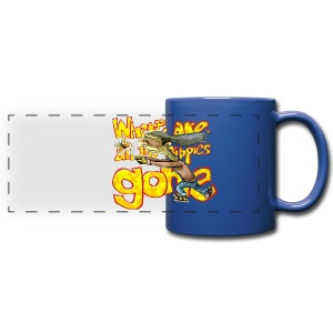 where are all the hippies gone? - Full Color Panoramic Mug