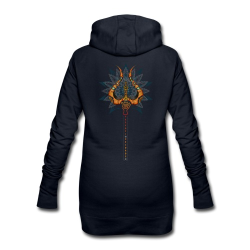 Parvati Trishula by Rusty PsyFly  - Hoodie Dress