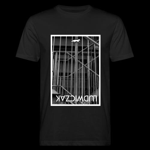 WIRED TEE BLACK - Männer Bio-T-Shirt